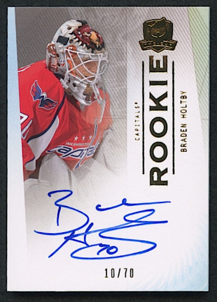 low priced 1761f 866da 2009-10 The Cup Gold Rainbow #98 Braden Holtby ...