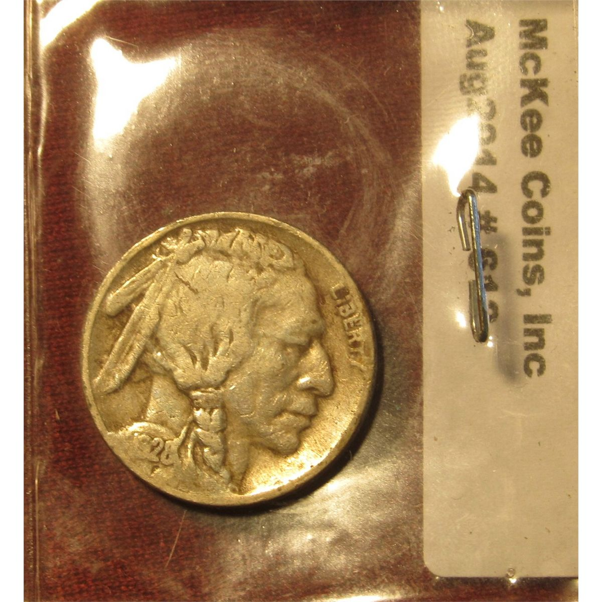 612  1928 D Buffalo Nickel  G+