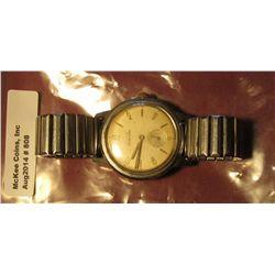 808. Elgin Sportsman wristwatch, 17 jewels, winds, runs, keeps time