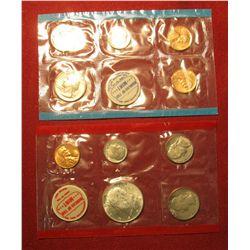 829.1968 US Mint set, still in Mint cello, no outer envelope