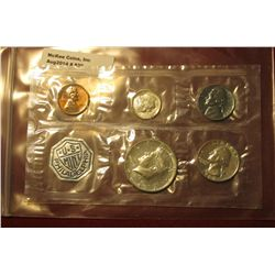 830.1964 US proof set, still in Mint cello, no outer envelope