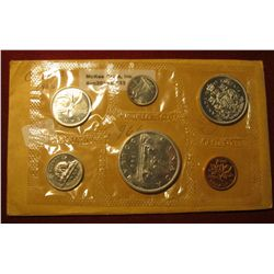 833.   1966 Canada Proof-like set, still in Mint cello, nice coins