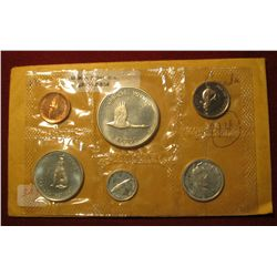 834.   1967 Canada Proof-like set, still in Mint cello, nice coins