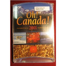 """842. 2001 Canada """"Oh! Canada!"""" Uncirculated Coin set, sealed in original packaging"""