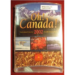 """843. 2002 Canada """"Oh! Canada!"""" Uncirculated Coin set, sealed in original packaging"""