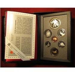 855. 1993 Canada Proof set in original packaging, includes Silver Stanley Cup Hockey Dollar