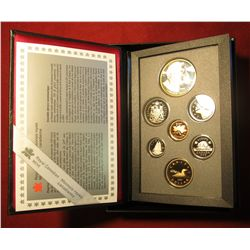 858. 1995 Canada Proof set in original packaging, includes Silver Hudson Bay Company Dollar