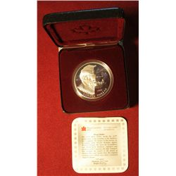 864. 1995 Canada Proof Silver Dollar – Hudson Bay Company commemorative in original packaging