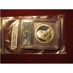 867. 2006-P Proof Franklin Founding Father commemorative Silver Dollar, graded PR70 DCAM by ICG