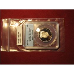 869. 2011-S Proof Kennedy Half Dollar, graded PR70 DCAM by ANACS