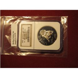 875. 1995-S Proof Civil War Battlefields commemorative Silver Dollar, graded PF69 Ultra Cameo by NGC