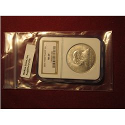 876. 2003-P First Flight commemorative Silver Dollar, graded MS69 by NGC, great for a registry set