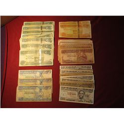 920. Bundle of 67 Ethiopia Birr notes totaling 2618 Birr or $133+ US dollars