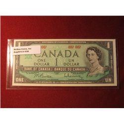 938. Series 1967 Canada Confederation Centennial Commemorative banknote, Crisp Uncirculated