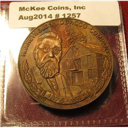 1257. RJ Reynolds Tobacco Company 1875-1975 Centennial medal