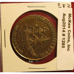 1285. 1975 NAS OCEANA Federal Credit Union commemorative medal – 1775-1975 200th anniversary of US N