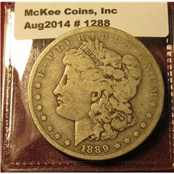 1288. 1889-O Morgan Silver Dollar VG