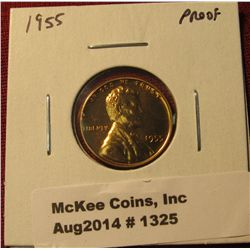 1325. 1955 P Proof Lincoln Wheat Cent