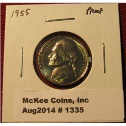 1335. 1955 P Proof Jefferson Nickel