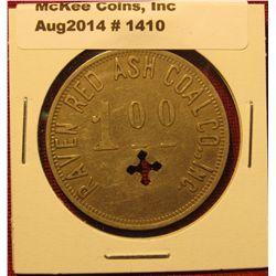 1410. Coal company scrip – Raven Red Ash Coal Co. Inc. $1.00