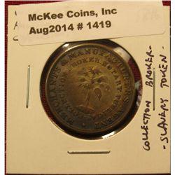 1419. 1846 W.W. Wilbur Auction & Commission Merchant / Merchants & Manufacturers Agent – Collection