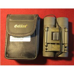 1599. Galileo Binoculars with case. TS-821RP.