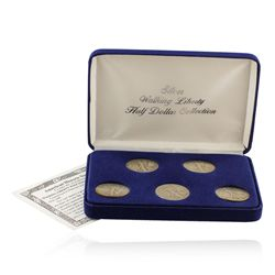 Silver Walking Liberty Half Dollar Collection SCE1471