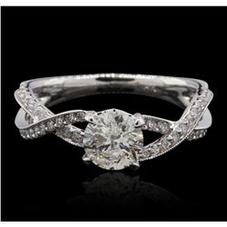 14KT White Gold 1.50ctw Diamond  Ring GB4689