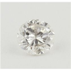GIA Certified 0.66ct I-1/G Round Cut Loose Diamond GB4225