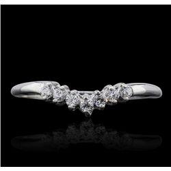 10KT White Gold 0.13ctw Diamond Ring GB5362