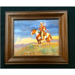 Original Oil Painting by John T. Jones