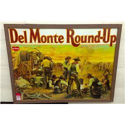 Circa 1950's Del Monte Roundup Advertisement