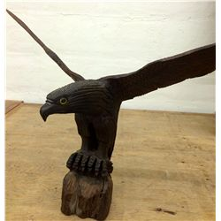 Ironwood Carved Eagle