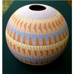 Very Large Handmade Navajo Pottery