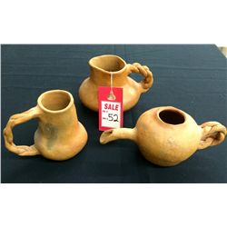 Handmade Pottery Lot