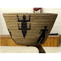 Tahono O'odham Indian Basket