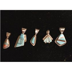 Channel Inlay Pendant Lot