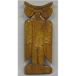 Chinese wingnut wood owl original designs