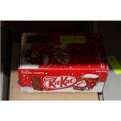 STALE DATED BOX OF KIT-KAT BARS