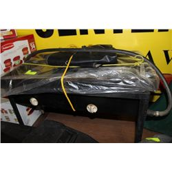 EXTREME HEAT DOUBLE BURNER GRILL W/COVER