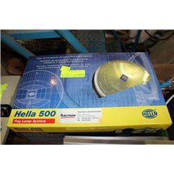 PR OF HELLA 500 FOG LIGHTS