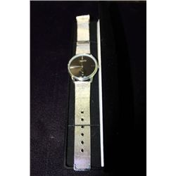 MENS ALL STAINLESS STEEL WATCH