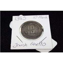 1943 10 MARK JEWISH GHETTO (SELLING AS IS)