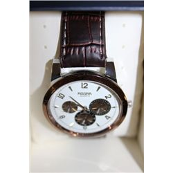 ROSRA QUARTZ LEATHER MEN'S WATCH