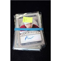 BUNDLE OF AUTOGRAPHED NHL CARDS
