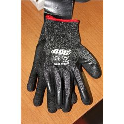 PR OF SMALL SYNTHETIC WORK GLOVES X3