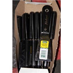 """BOX W 10 RICHARD 2"""" PUTTY KNIVES"""