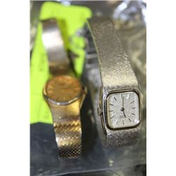 BAG OF 2 LADIES ESTATE WATCH