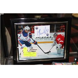 DAVE PERRION AUTOGRAPHED HOCKEY PHOTO