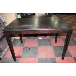 BAR TABLE W BUTTERFLY LEAF